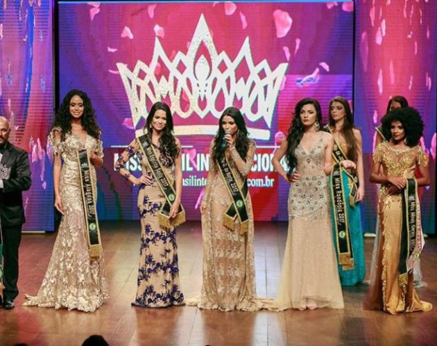 A Norte-rio-grandense Vanessa Fernandes é a Miss Brasil internacional 2018.