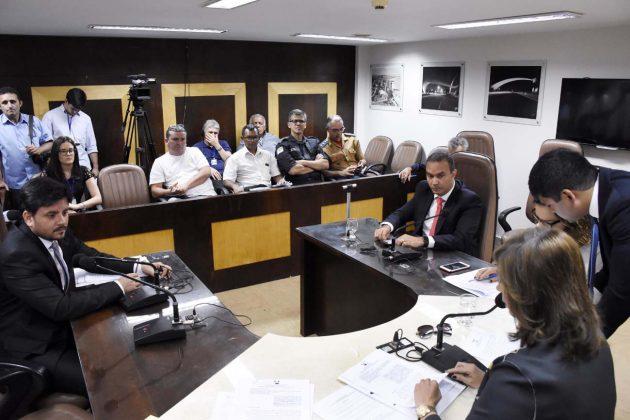 Com emendas, CCJ aprova projeto de lei de ingresso de policiais militares. (Foto: João Gilberto).