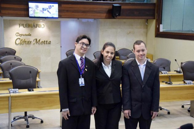 História e projeto de inclusão da Assembleia ganham espaço no Congresso das Apaes. (Foto: João Gilberto).