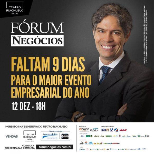 o economista Ricardo Amorim, que estará em Natal, no próximo dia 12 de dezembro, no Teatro Riachuelo