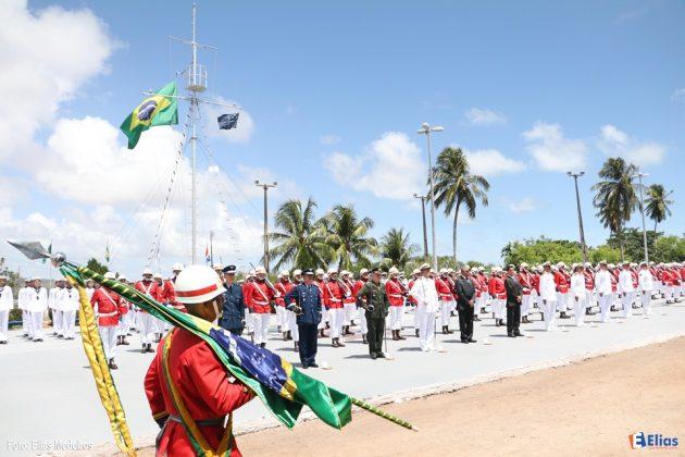 Marinha comemora Dia do Marinheiro em Natal com imposição da Medalha Mérito Tamandaré.