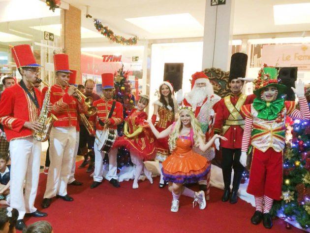 Shopping Cidade Jardim cede espaço para ação solidária de Natal.