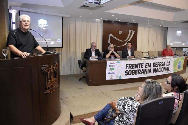 Assembleia sedia lançamento da Frente Parlamentar em Defesa da Soberania Nacional.