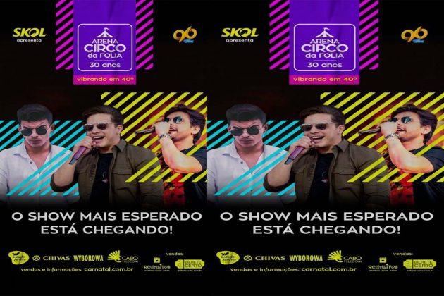 Destaque Promoções faz seu primeiro show da temporada 2018 nesta sexta com Wesley Safadão, Vintage Culture e Pedrinho Pegação.