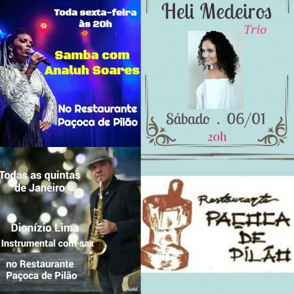Paçoca de Pilão com variada programação cultural.