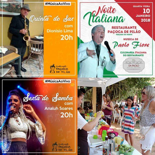Paçoca de Pilão cheia de som e com Festival de Cachaça no sábado.