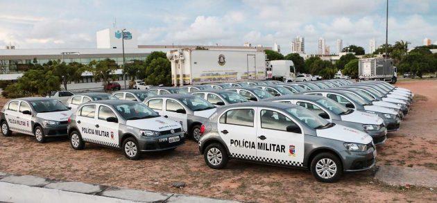 Mais de 100 novas viaturas reforçarão segurança pública no RN. (Foto: Ivanízio Ramos).