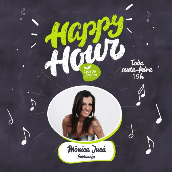 Sertanejo anima Happy Hour do Shopping Cidade Jardim.