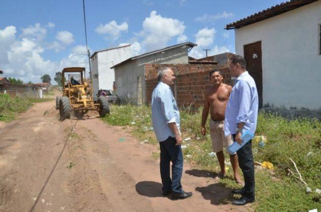 São Gonçalo: Paulinho inicia ano com novas obras em pavimentação. (Foto: Wendel Jeferson).