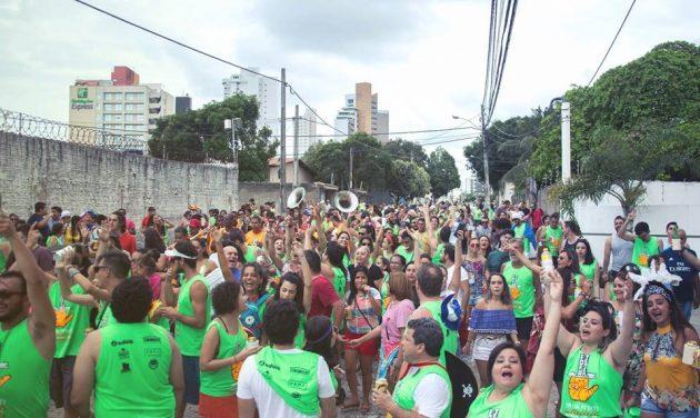 Tá'Qui Pr'Ocês realiza IV Prévia Carnavalesca com desfile e orquestra de frevo em Natal. (Foto: João Henrique).
